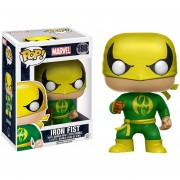Funko Pop Iron Fist Green Suit Marvel Defenders Verde