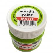 Culoare acrilica mata 50ML Apple Green P1017/1