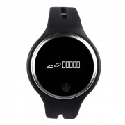 E07 Smart Band pulsera Bluetooth Sport Smart pulsera pulsera - Negro
