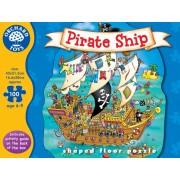 Puzzle de podea - Corabia piratilor (100 piese) - Orchard Toys (228)