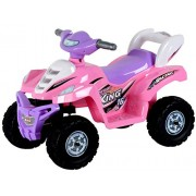 Toyhouse Desert King Small ATV Bike 6V Rechargeable Battery Operated Ride On for kids( 2to 4),Pink