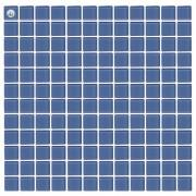 Maxwhite L13 Mozaika skleněná modrá světlá 29,7x29,7cm sklo