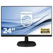 "Монитор Philips 243V7QJABF, 23.8"" (60.45 cm) IPS панел, Full HD, 5 ms, 10000000:1, 250 cd/m2, HDMI, DisplayPort"