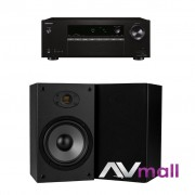 Pachet Receiver AV Onkyo TX-SR252 + Boxe Dayton Audio B652 Air