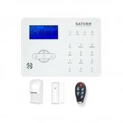 Kit antifurto gsm wireless senza fili supervisionato contatti magnetici wireless