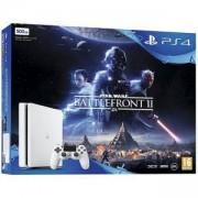 Конзолола Sony PlayStation 4 500 GB White Star Wars Battlefront II Bundle