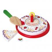 Szeletelhető játék torta készlet