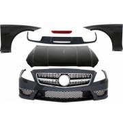 Pachet Exterior Complet compatibil cu MERCEDES W218 CLS 2011-up CLS 63 Design