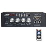 AMPLIFICATOR KARAOKE 2X25W CU BLUETOOTH/USB/SD/AUX SI TELECOMANDA PLS1250USB-RC