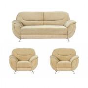 Gioteak Kindled 5 seater sofa set golden color