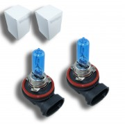 Pack Ampoule H9 65W Effet Xenon - Super White 5000K