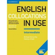 English Collocations in Use Intermediate Book with Answers by Michael McCarthy
