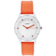 Laurels White Color Analog Women's Watch With Strap: LWW-COLORS-011107