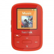 SanDisk Clip Sport Plus MP3 16GB Rojo