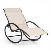 Santorini Cadeira de Baloiço e Repouso Alumínio Poliéster Bege