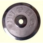 Диск 10кг ф25 никел