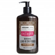 Arganicare Soin nourrissant sans rinçage Argan et Collagène cheveux fins et dévitalisés - 400 ml