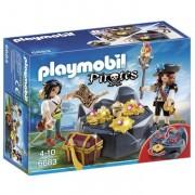 Playmobil pirates nascondiglio del tesoro 6683