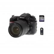 Camara Reflex Nikon D7200 con lente 18-140 + 32gb + control remoto