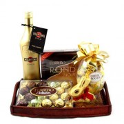 Special Gold Gift Tray