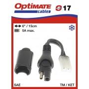 Tecmate/Accumate O-17 (TM-77) Átalakító TM-ről SAE-ra