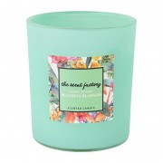 Xenos Home scent kaars in glas - Blushing Blossom - ⌀8.8x10 cm
