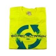 Scitec Nutrition T-shirt Scitec Neon Yellow 96