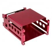 HDD Rack Lian Li EX-H24R, SATA Hot Swap, aluminiu, culoare rosie