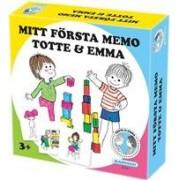 Tidningen Mitt första memo, Emma & Totte - Memoryspel 1 nummer