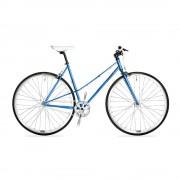 Csepel Royal 3* női fixi kerékpár Kék