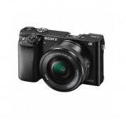 Aparat foto Mirrorless Sony Alpha A6000 24.3 Mpx WiFi NFC Black Kit 16-50mm