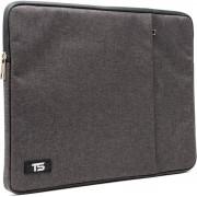 """Tech Supplies - MTSR13 Business Selection Sleeve voor 13 Inch Laptop, geschikt voor de Apple Macbook Air / Pro of andere laptops van 13.3"""" Fluweel zacht van binnen Bescherming Cover Hoes Case Donker Bruin"""