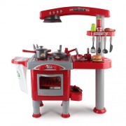 Kitchen Pretend Play Set Red