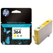 HP Original Tintenpatrone CB320EE (No.364), yellow