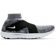Nike Free Run Motion Flyknit - scarpe running neutre - uomo - Black/White