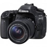 Canon Eos 80d + 18-55mm F/3.5-5.6 Is Stm Man. Ita - 2 Anni Di Gar. In Italia