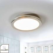 Lampenwelt.com Ronde LED hanglamp Filina, dimbaar via schakelaar