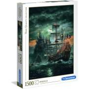Clementoni legpuzzel - The Pirate Ship - 1500 stukjes