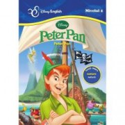 Disney English Nivelul 2 Peter Pan poveste bilingva