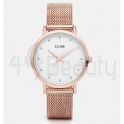 Дамски часовник CLUSE CL18303 Pavane Rose Gold Stones