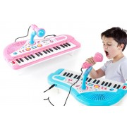 Xuzhou Fanpusi Goods Co.,Ltd T/A Top Good Chain £14 for an electric keyboard and microphone for kids in blue or pink from Topgoodchain – a great activity for budding Beethovens!