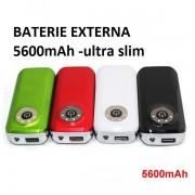 Baterie Externa (POWER BANK) 5600 mAh - Sursa de rezerva pentru telefonul tau
