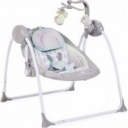 Leagan Electric Moni Baby Swing+ Grey