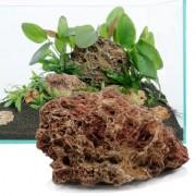 Zkamenělé listí - 60 cm sada: 9 přírodních kamenů, cca. 3.5 kg