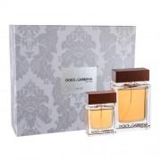 Dolce&Gabbana The One For Men set cadou EDT 100 ml + EDT 30 ml pentru bărbați