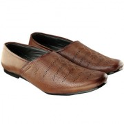 Blinder Mens Brown Latest Stylish Casual Loafer Mocassin Shoes