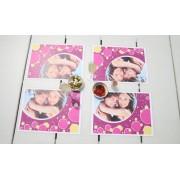 smartphoto 24er Papier-Tischsets mit Foto