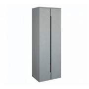 Dulap suspendat dublu Oristo Silver 50 x 35 x 144 cm, gri -ORS33SB502