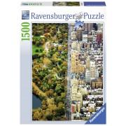 Ravensburger puzzle new york, 1500 piese