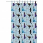 Disney Kindergordijn Frozen groep blauw 250 x 140 cm ASSO234007